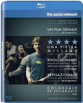 The Social Network - The Facebook Movie (2010) (2 Blu-rays)