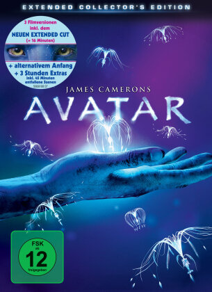 Avatar - Aufbruch nach Pandora (2009) (Extended Collector's Edition, 3 DVDs)