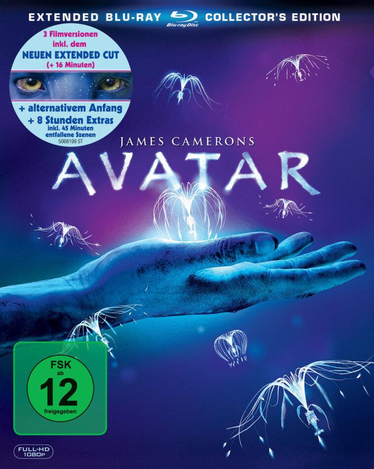 Avatar - Aufbruch nach Pandora (2009) (Extended Collector's Edition, 3 Blu-rays)