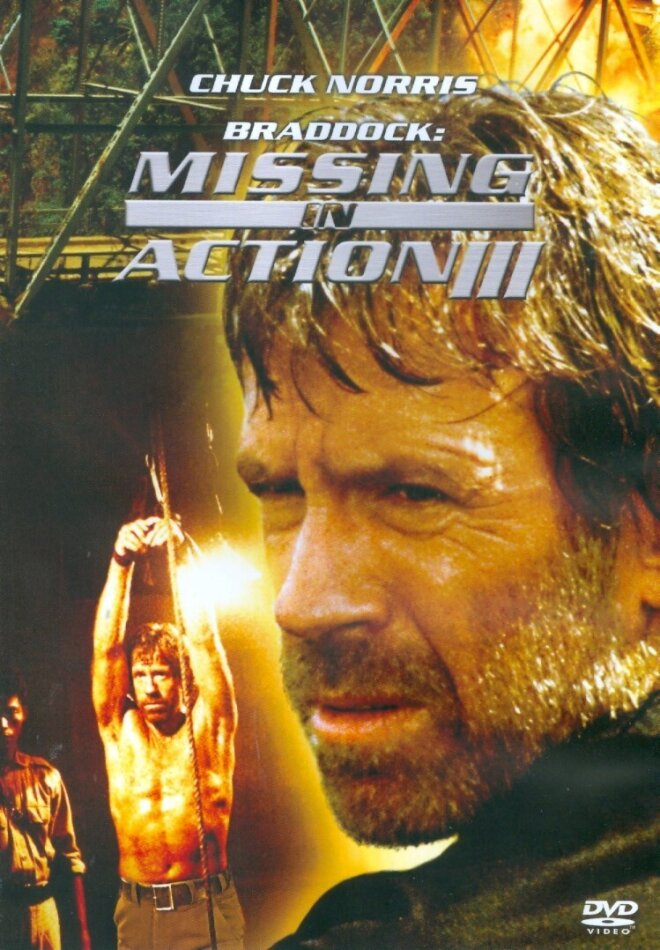 ACTOR POSTER Chuck Norris Missing in Action
