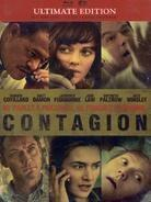 Contagion (2011) (Steelbook, Ultimate Edition, Blu-ray + DVD)
