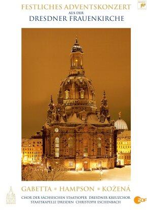 Sächsische Staatskapelle Dresden, Christoph Eschenbach, … - Festliches Adventskonzert 2009 Dresdner Frauenkirche (Sony Classical)