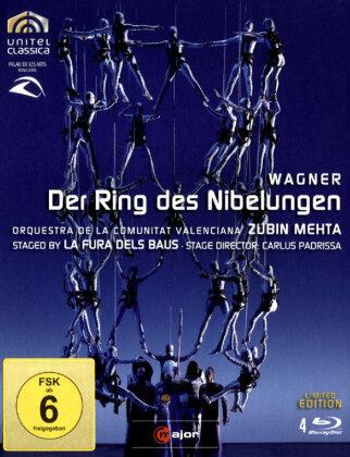 Orquestra de la Comunitat Valenciana, La Fura Dels Baus, … - Wagner - Der Ring des Nibelungen (C Major, Unitel Classica, 4 Blu-rays)