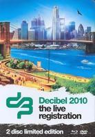 Various Artists - Decibel 2010 - The Live Registration (Steelbook, Blu-ray + DVD)
