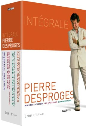 Pierre Desproges - Intégrale (Buch + CD + 5 DVDs)