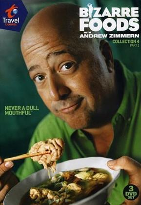 Bizarre Foods with Andrew Zimmern - Collection 4, Part 1 (3 DVDs)