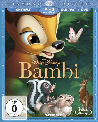 Bambi (1942) (Diamond Edition, Blu-ray + DVD)