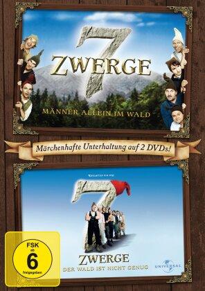 7 Zwerge - Männer allein im Wald / Der Wald ist nicht genug (2 DVDs)