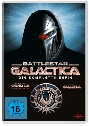 Battlestar Galactica - Die komplette Serie (28 DVDs)