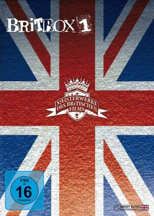 Brit Box 1 - This is England / Hush / London to Brighton (3 DVDs)