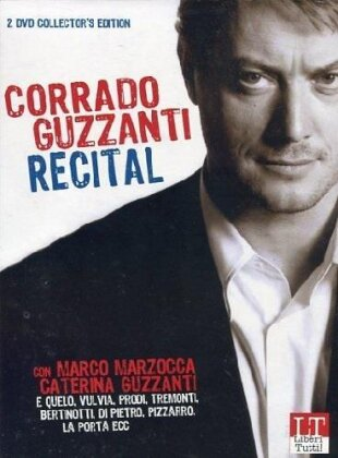 Corrado Guzzanti - Recital (Collector's Edition, 2 DVDs + Buch)