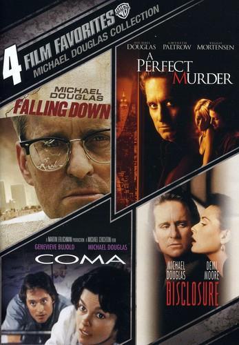 Michael Douglas - 4 Film Favorites (2 DVDs)