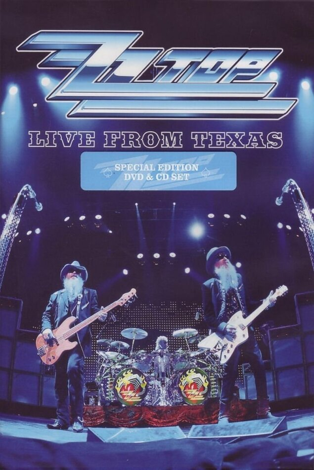 ZZ Top - Live from Texas (Collector's Edition, DVD + CD)