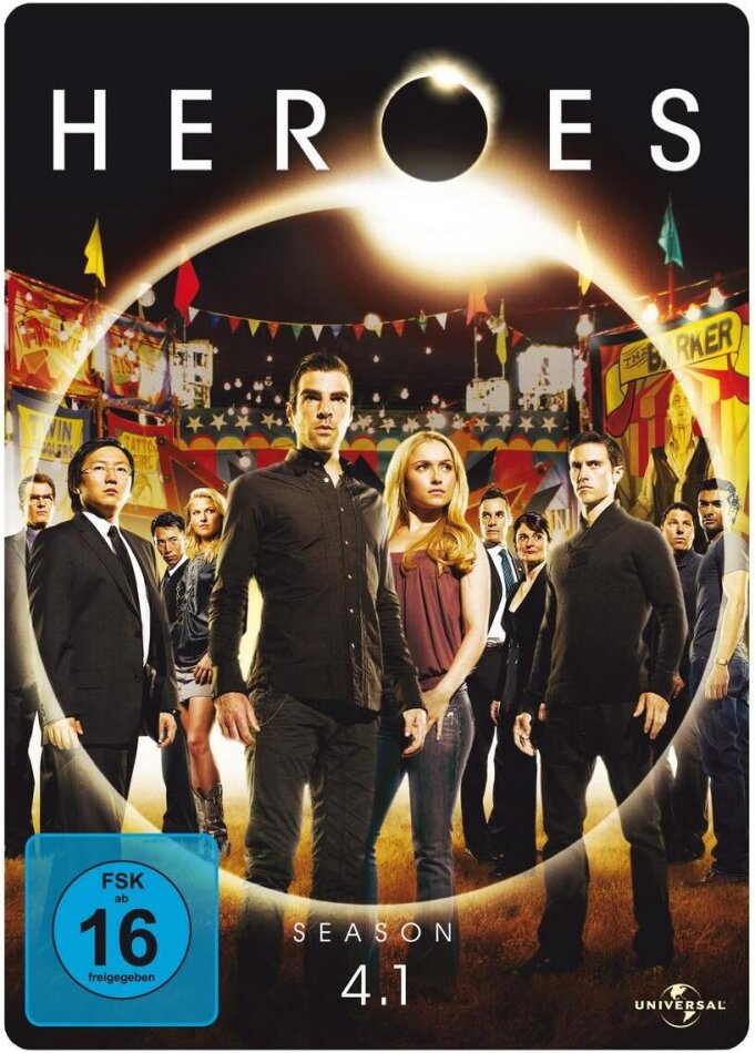 Heroes - Staffel 4.1 (Steelbook, 3 DVDs)