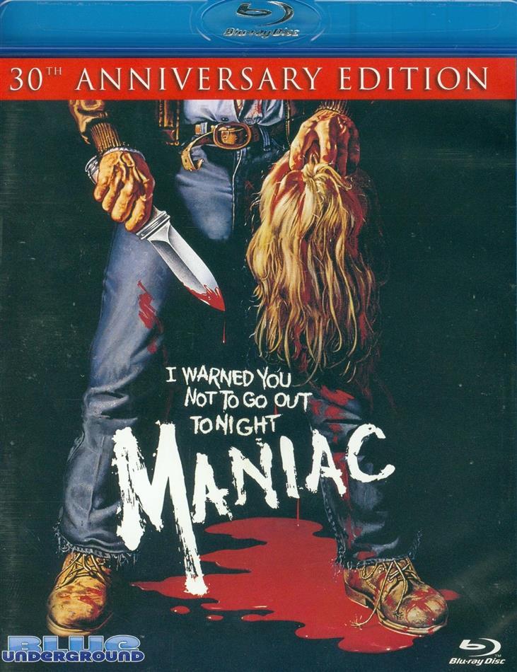 Maniac (1980) (Unzensiert, 30th Anniversary Edition, Uncut, Unrated, 2 Blu-rays)