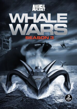 Whale Wars - Season 3 (3 DVDs)