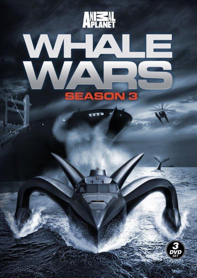Whale Wars - Season 3 (3 DVDs)