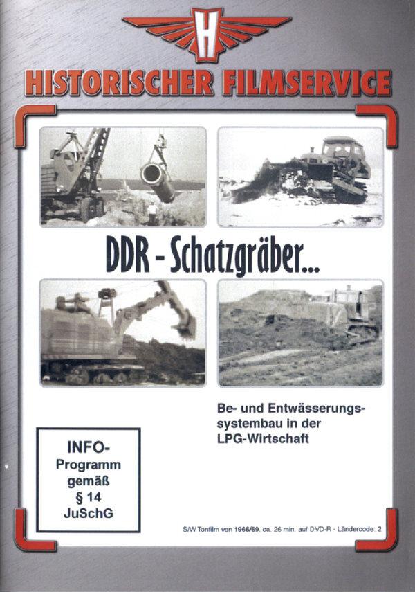 DDR Schatzgräber - Be- und Entwässerungssystembau in der LPG-Wirtschaft (s/w)