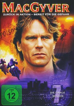 MacGyver - Staffel 7 (4 DVDs)