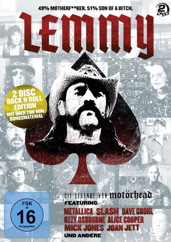 Lemmy Kilmister - Lemmy: The Movie (2 DVDs)
