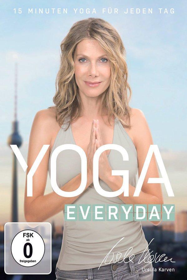Yoga everyday - Ursula Karven (Deluxe Edition, DVD + CD)