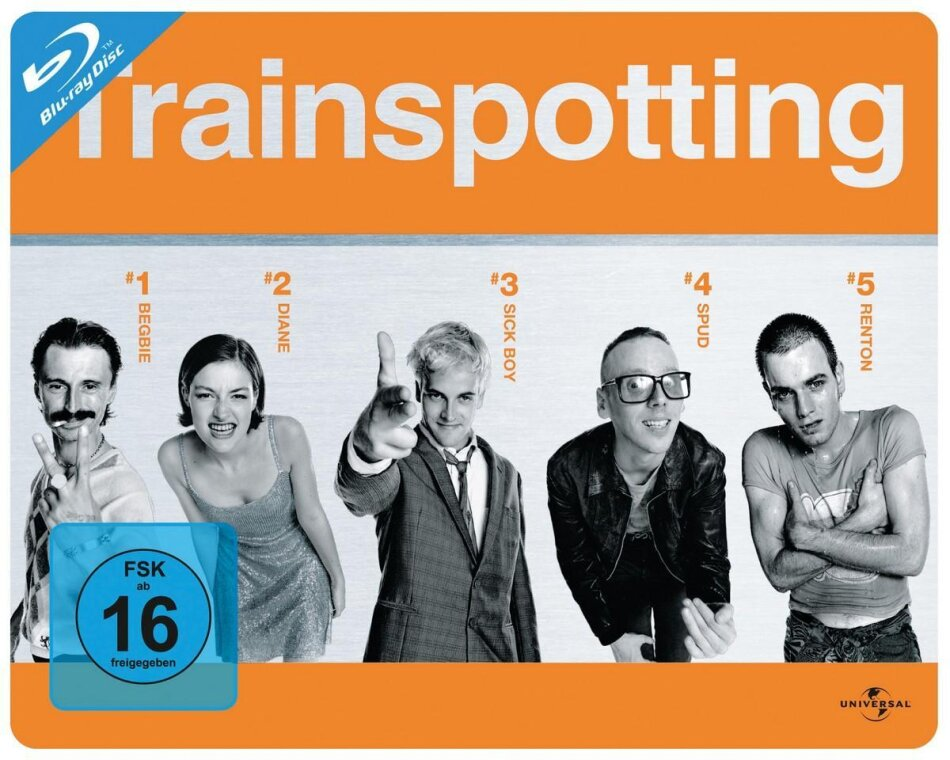 Trainspotting - (Querformat) (1996) (Steelbook)