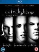 Twilight Saga Triple (Limited Edition, Steelbook, 3 Blu-rays)