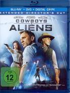 Cowboys & Aliens - (Blu-ray Extended Cut + DVD) (2011)