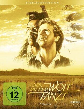 Der mit dem Wolf tanzt (1990) (Steelbook, 2 Blu-rays)