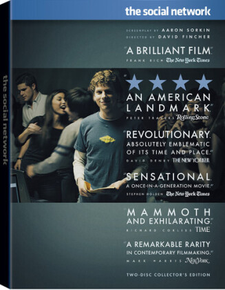 The Social Network - The Facebook Movie (2010) (Collector's Edition, 2 DVD)
