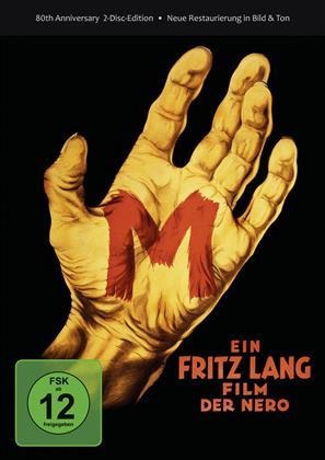 M - Eine Stadt sucht einen Mörder (1931) (Deluxe Edition, 2 DVD)
