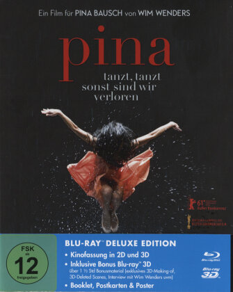 Pina - Tanzt, tanzt, sonst sind wir verloren (2011) (Deluxe Edition, 3 Blu-ray 3D (+2D))