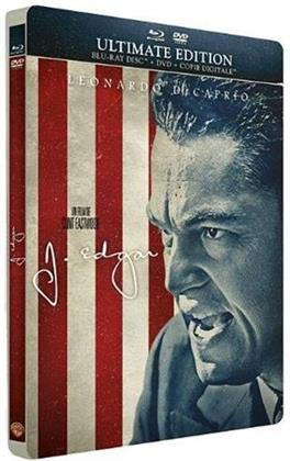 J. Edgar (2012) (Steelbook, Blu-ray + DVD)