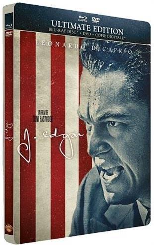 J. Edgar (2012) (Steelbook, Blu-ray + DVD)