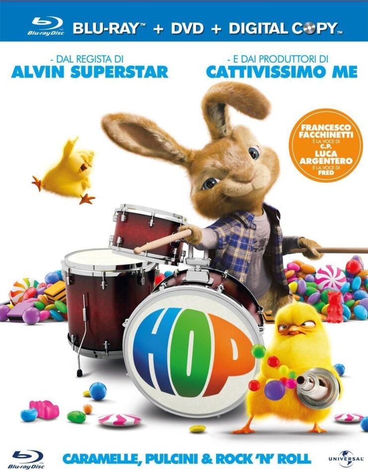 Hop (2011) (Blu-ray + DVD + Digital Copy)