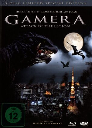 Gamera - Attack of the Legion (Edizione Limitata, Blu-ray + 2 DVD)