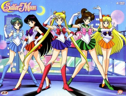 Sailor Moon - Stagione 1 - Box 1 (Remastered, 4 DVDs)