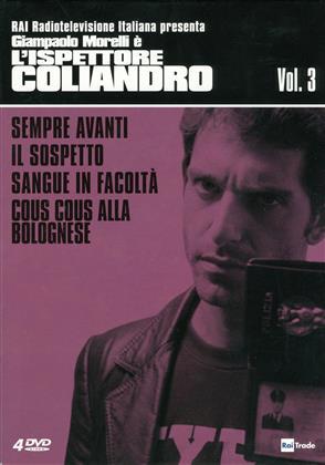 L'ispettore Coliandro - Stagione 3 (s/w, 4 DVDs)