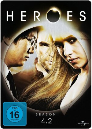 Heroes - Staffel 4.2 (Steelbook, 3 DVDs)