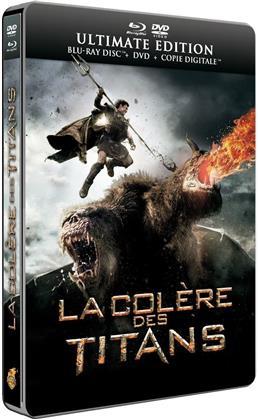 La Colère des Titans (2012) (Steelbook, Blu-ray + DVD)