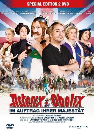 Asterix & Obelix - Im Auftrag ihrer Majestät (2012) (Special Edition, 2 DVDs)