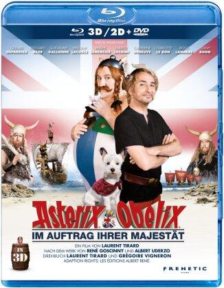 Asterix & Obelix - Im Auftrag ihrer Majestät (2012) (Blu-ray 3D (+2D) + DVD)