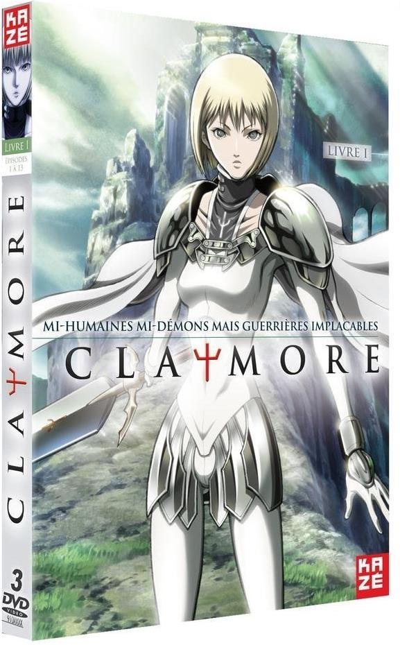Claymore - Vol. 1 - Saison 1.1 (3 DVDs)