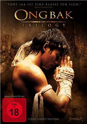 Ong Bak Trilogy (Special Edition, Uncut, 3 DVDs)