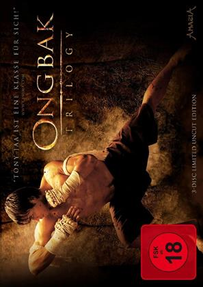 Ong Bak Trilogy (Limited Edition, Steelbook, Uncut, 3 DVDs)