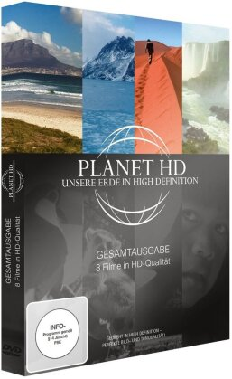 Planet HD: Gesamtausgabe - Unsere Erde in High Definition (Collector's Edition, 3 DVDs)