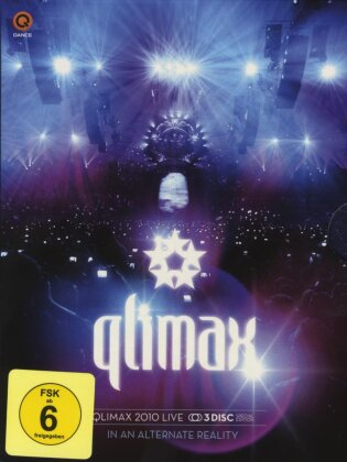 Various Artists - Qlimax 2010 - Live Registration (Blu-ray + DVD + CD)