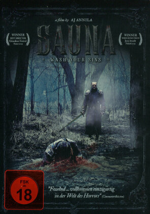 Sauna - Wash Your Sins (2008) (Steelbook)