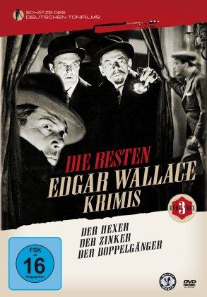 Die besten Edgar Wallace Krimis (Schätze des deutschen Tonfilms, n/b, 3 DVD)