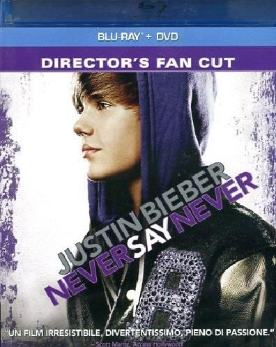 Never say never (Blu-ray + DVD) - Justin Bieber